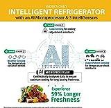 Whirlpool 265 L 4 Star Inverter Frost-Free Multi-Door Refrigerator (IF INV 278 ELT (4S), German Steel)