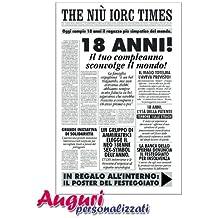 Amazon.it: biglietti auguri compleanno 18 anni