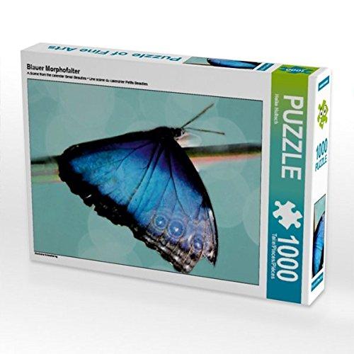 blauer-morphofalter-1000-teile-puzzle-hoch-exotischer-schmetterling-calvendo-tiere