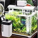 Despacito CT-202 Aquarium Air Pump Silent with Oxygen, Super Noiseless Air Pump with 2 Air Outlets, Adjustable Air Flow Facil