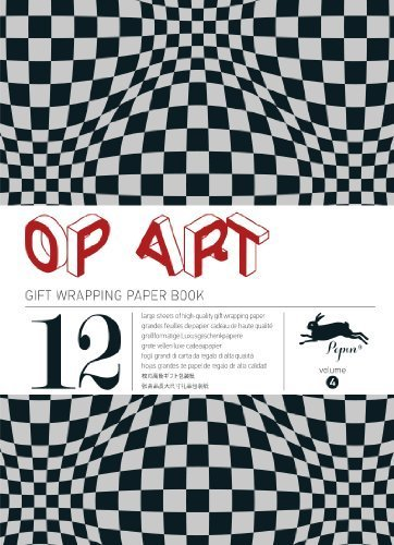 Op Art : Gift and creative paper book Vol. 4 (Gift Wrapping Paper Book) by Pepin van Roojen (2013-11-15)