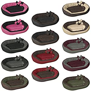 BedDog SABA 4en1 lit pour chien de L à XXXL, 7 couleurs au choix, coussin de chien, lit pour chien, panier pour chien
