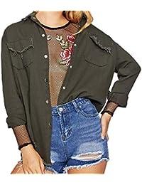 53f62a4398 Amazon.it: camicia di jeans - Ultimi tre mesi / Giacche e cappotti ...