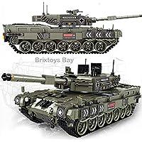 Brixtoys Bay® military German Leopard 2 main battle tank - 1747pcs compatible building blocks, box set #FE2003