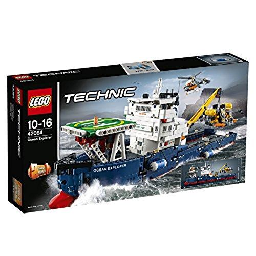 LEGO Technic 42064 - Forschungsschiff (Geschenke Zum Geburtstag Für 1 Jährigen Jungen)