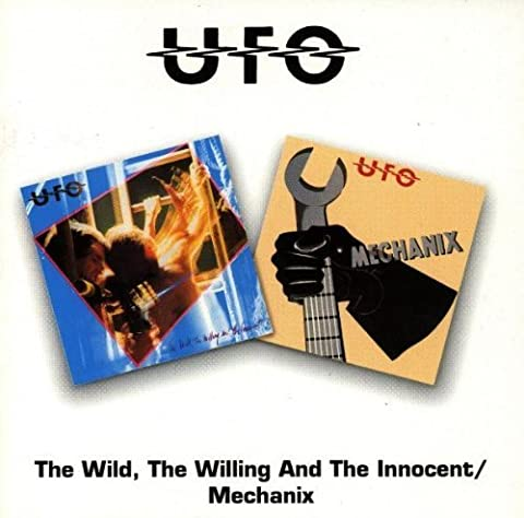 The Wild, The Willing And The Innocent/Mechanix (UK) by UFO (1996-01-23)