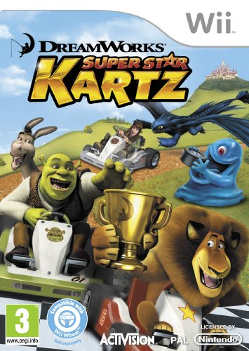 Dreamworks Super Star Kartz (wii)