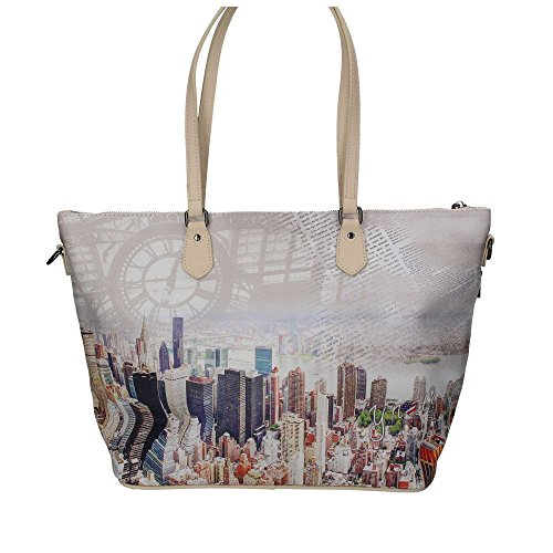 YNOT? H-397 Shopper Tasche Damen Beige