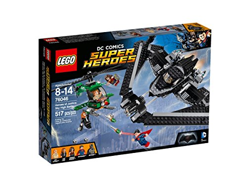 LEGO 76046 Super Heroes Batman v Superman Heroes of Justice, Sky High Battle