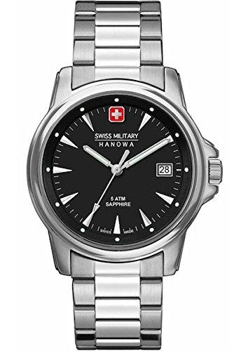 SWISS MILITARY-HANOWA Herren Analog Quarz Uhr mit Edelstahl Armband 06-5230.04.007