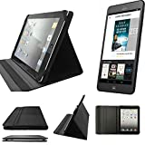 K-S-Trade Tolino Tab 8 Schutz Hülle Business Case Tablet Schutzhülle Flip Cover Ultra Slim Bookstyle Tasche für Tolino Tab 8, schwarz. Kunstleder Qualitätsware