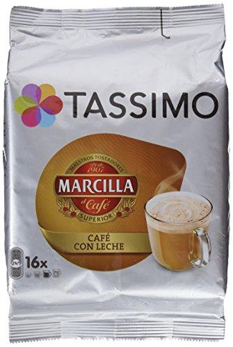TASSIMO café marcilla con leche estuche 16 cápsulas