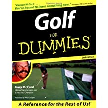 Golf For Dummies (For Dummies (Computer/Tech)) by Gary McCord (1999-04-29)