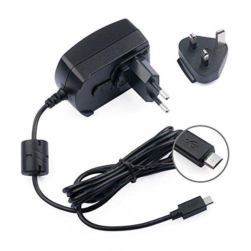 TFDirect 5V 1.5A 2A 2.5A 3A Câble Universel Chargeur Standard de l'UE Tablet 15W Micro USB Adaptateur Pour Asus Transformer Book T100 T100TA T100TA-C1-GR, T100TA-C1-GR(S), T100TA-C2-GR, T100TA-B1-GR, & T100TA-B2-GR; Bose Soundlink Colour, Mini II, Mini 2, JBL Flip2/3, Philips BT 50/BT 110; Samsung Galaxy S5 S4 S3 Note II 2 LTE GT-N7105, LG G3 S Beat G PRO 2 Flexlite G2 Mini Nexus 5 HTC One X, Sony Xperia S, HTC One, Nokia Lumia, Google Nexus 7/10, External Battery Micro-USB Connecteur + UK Plug