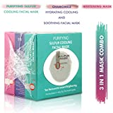 O3+ 3 in 1 Mask Combo Kit - Whitening Mask, Purifying Sulfur Cooling