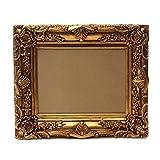 Prunk Bilderrahmen Antik Gold 60×50/ 30×40 cm (Vintage) Im Retro-Vintage look durch Handarbeit hergestellt für Künstler, Maler. Idealer Gemälde-Rahmen Barockrahmen für Ausstellungen STAR-LINE® - 2