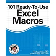 101 Ready-To-Use Excel Macros (Mr. Spreadsheet's Bookshelf)