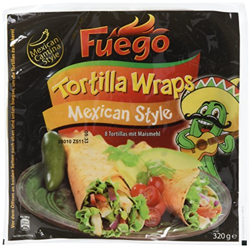 Fuego Tortillas Mexican Style, 7er Pack (7 x 320 g)