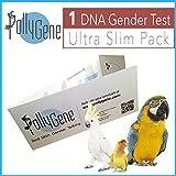 Vogel Sex DNA Slim Probe. Geschlecht Zeige Test für Papageien, Lovebirds, Kakadus, Graupapageien, Nymphensittiche, Sittiche, Großsittiche (+ 300psittacines) geflügelpest Sex DNA-Tests Probe Karte