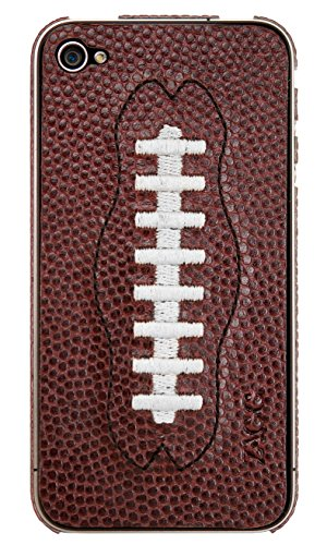 ZAGG Sport leatherskins Baseball Coque pour iPhone 4 Blanc Football