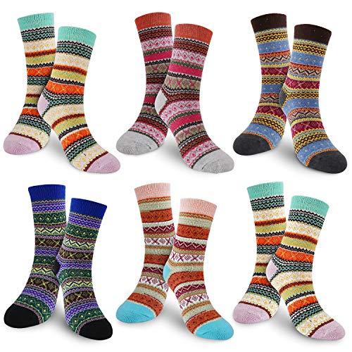 Unisex Socken 2:1 Rippe ohne Gummi 100/% Wolle