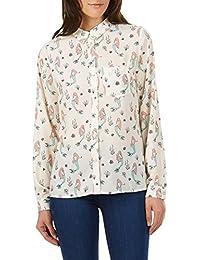adc67471f96c Sugarhill Boutique Women's Cream Mermaid Print Dawn Shirt