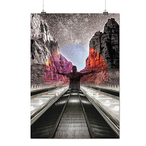 meditate-freedom-nature-free-human-matte-glossy-poster-a2-60cm-x-42cm-wellcoda