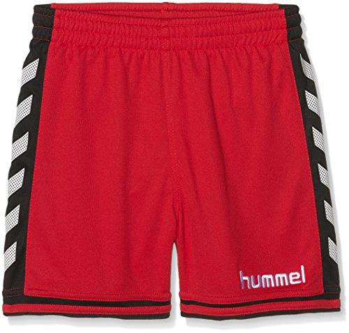 Hummel Jungen Shorts SIRIUS, True Red/Black, Gr.10-12 (Herstellergröße:140 - 152)
