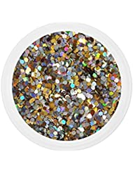 Dots mix bling bling CLAIRE nail art 10 grs grosses paillettes manucure ongles gel uv french