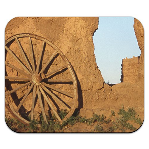 Western Wagon Rad – Fort Union Southwest New Mexiko Mauspad Mauspad