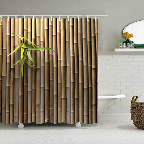 vorhang Wasserdicht Bad Vorhang f¨¹r Badezimmer Dekor mit 12 Haken ()