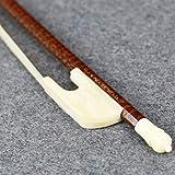 vingobow New voller Größe Barock Violine Geige Bogen. gut Flexibilität und kostenloser Versand mit einer Hartschalenhülle, Art Nr. 630V