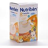 NUTRIBEN 8 CEREALES MIEL CALCIO 600 G