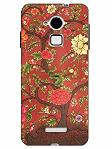 Snazzy Rajasthani Printed Pink Hard Back Cover For CoolPad Note 3