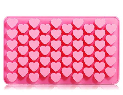 Silic ¨ ® n des Dise? O DEL coraz ¨ ® n des Schokolade Mold & Icy Tray (Pink) von Preciastore