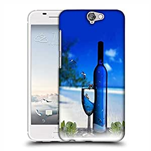 Snoogg Blue Drinks Designer Protective Phone Back Case Cover For Asus Zenfone 6