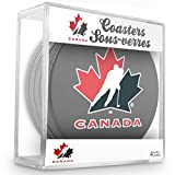 Sher-Wood-Disco da hockey squadra di hockey su ghiaccio del Canada Untersetzer (Set da 4)