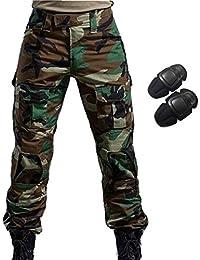 H Welt EU - Pantalones militares del ejército táctico, para airsoft o paintball, pantalones