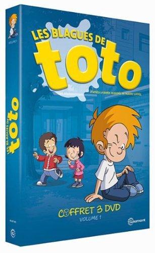 Toto Trouble - Volume 1 - 3-DVD Box Set ( Les Blagues de Toto ) ( Toto Trouble - Volume One - 30 Episodes ) [ NON-USA FORMAT, PAL, Reg.2 Import - France ] by Gilles Dayez