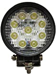 #6: Tufkote Flood Beam Auxiliary LED Lamp for Cars and Bikes (27W)