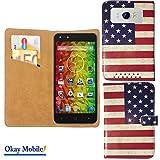 Smartphone Tasche Schutzhülle Cover Case mit 2