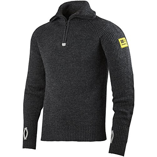 Wolle Feuchtigkeit (Snickers Workwear 2905 Woll Troyer, anthrazit-melange, S)