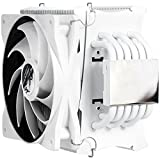 Alpenföhn Matterhorn Rev. C – White Edition Processor Cooler - Computer Cooling Components (Processor, Cooler, Socket AM2, Socket AM2+, Socket AM3, Socket AM3+, Socket FM1, Socket FM2, LGA 2011-v3 (Socket R), 500 RPM, 1500 RPM, 106 m³/h)