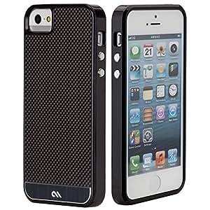 Case-Mate Coque en fibre de carbone pour iPhone 5 Noir