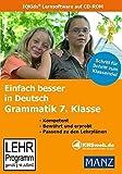 Einfach besser in Deutsch - Grammatik 7. Klasse