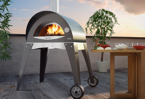 Forno Ciao Wood Fired Pizza Oven - High Performance Outdoor Oven Made in Italy - Limited Offer