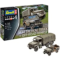 Revell Maquette Militaire-M34 Tactical Truck & Jeep, 03260