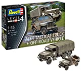 Revell- Maquette Militaire-M34 Tactical Truck & Jeep, 03260