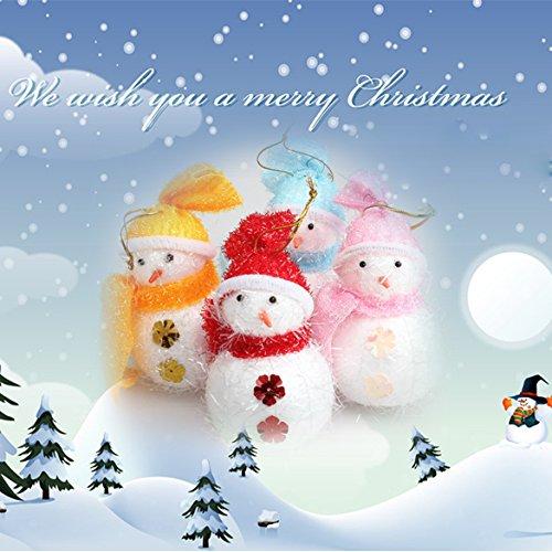 Urlaub Seasonal Winter Kiefer Baum Tür Dekoration Aufhängen Schneemann Weihnachts (Urlaub Tür Dekorationen)