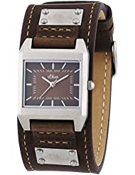 s.Oliver Damen-Armbanduhr Analog Quarz SO-2164-LQ